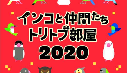 インコと仲間たち〜トリトブ部屋2020出展